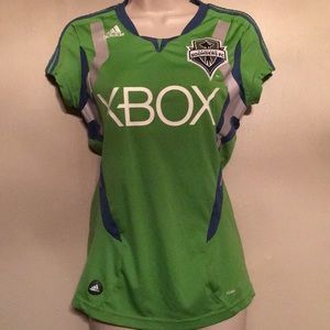 Adidas Seattle Sounders Jersey - Size S